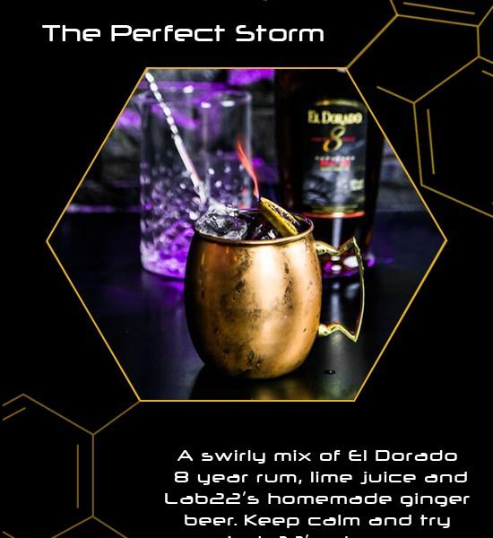 Cocktail Menu - Lab 22